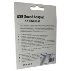 Звуковая плата Dynamode C-Media USB 8 3D RTL (USB-SOUND7-WHITE)