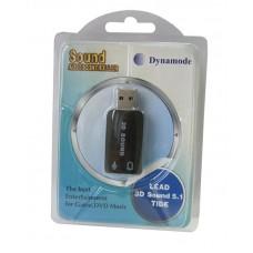 Звуковая плата Dynamode USB 6 (5.1) каналов 3D RTL (39623)