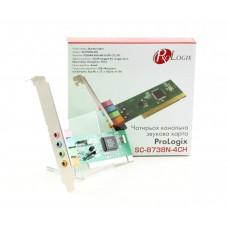 Звуковая плата ProLogix SC-8738N-4CN 4ch PCI RETAIL